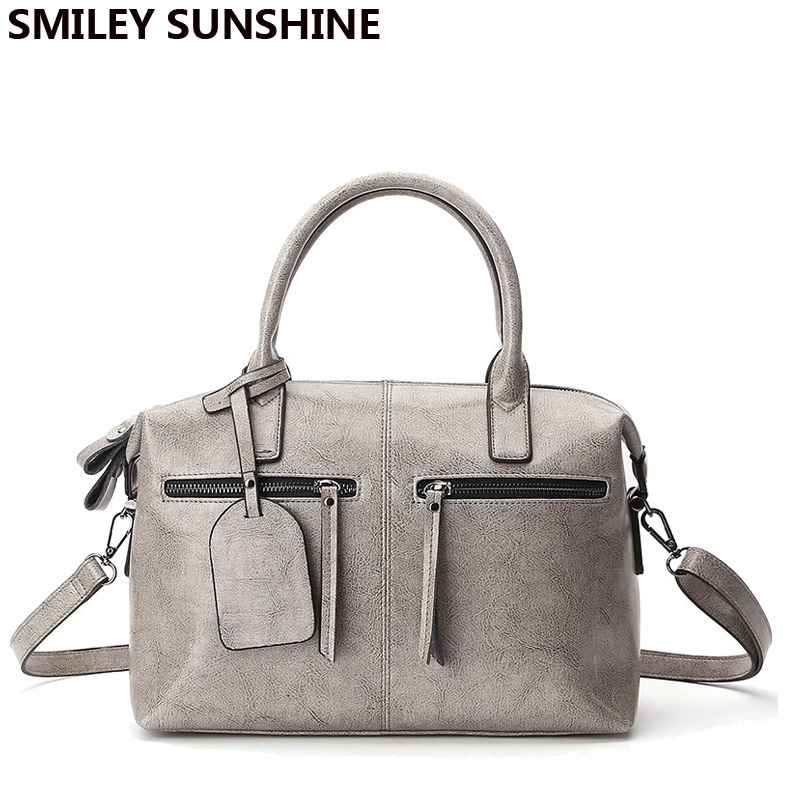 SMILEY SUNSHINE genuine leather female bag high quality soft designer women leather handbags big hand bag for women 2018 sacSMILEY SUNSHINE genuine leather female bag high quality soft designer women leather handbags big hand bag for women 2018 sac
