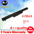 Wholesales New 4 CELLS laptop battery For HP Pavilion 14  15 Ultrabook  Series   694864-851   HSTNN-YB4D   VK04 FREE SHIPPING