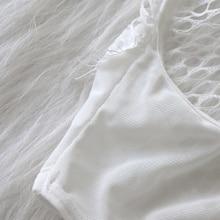 Mesh Lace Teddies Transparent Catsuit