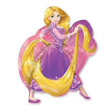Free shipping New Super Shape Rapunzel Foil Princess Balloons Helium Inflatable Birthday Balloon Toy Party Supplies