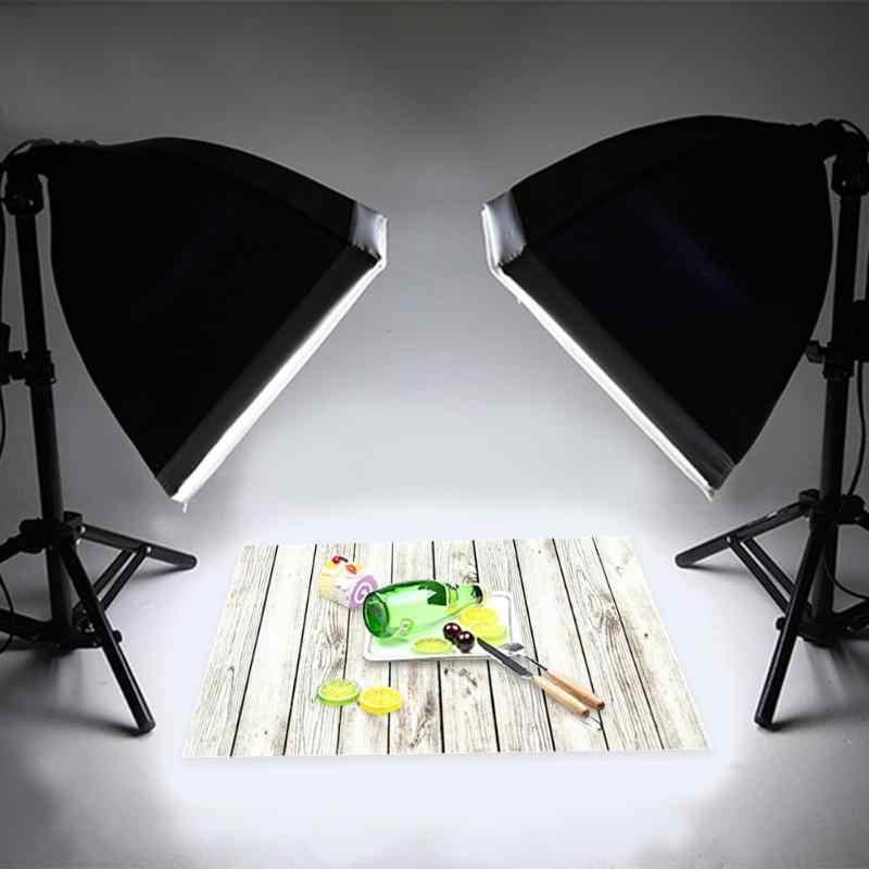 ALLOYSEED 60x90cm planche de bois photographie arrière-plan toile bureau Table Photo Studio téléphone accessoires photographiques pour la nourriture