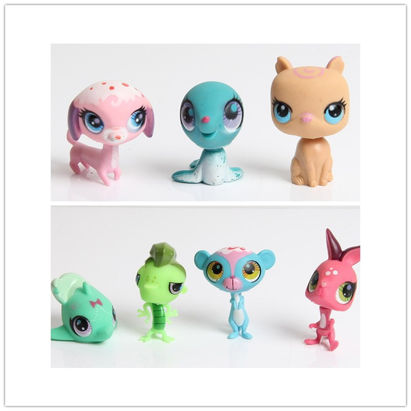pop lps pet doll house cute cat lol original toys for girls home car decoration Action figure surprise gift toys for kids in Action Toy Figures from Toys Hobbies