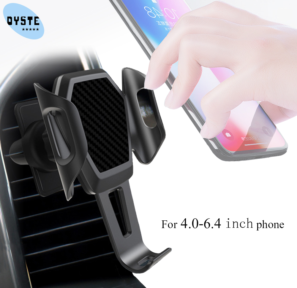 Car Phone Holder For Huawei P30 P20 Pro Lite Honor 9 8x Mate 20 10 Pro Car Holder Automatic Support Smartphone Voiture Universal