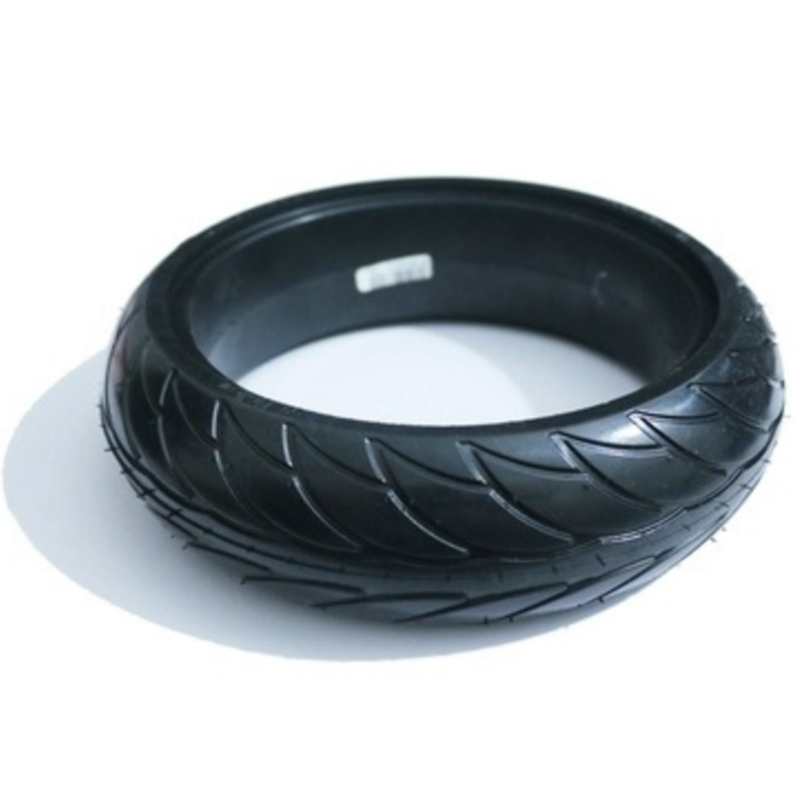 8 Inch Front Scooter Solid Tire Tyre Wheel For Xiaomi Ninebot Es1 Es2 Electric Scooter Kickscooter Skateboard 8 Inch Non-Pneum