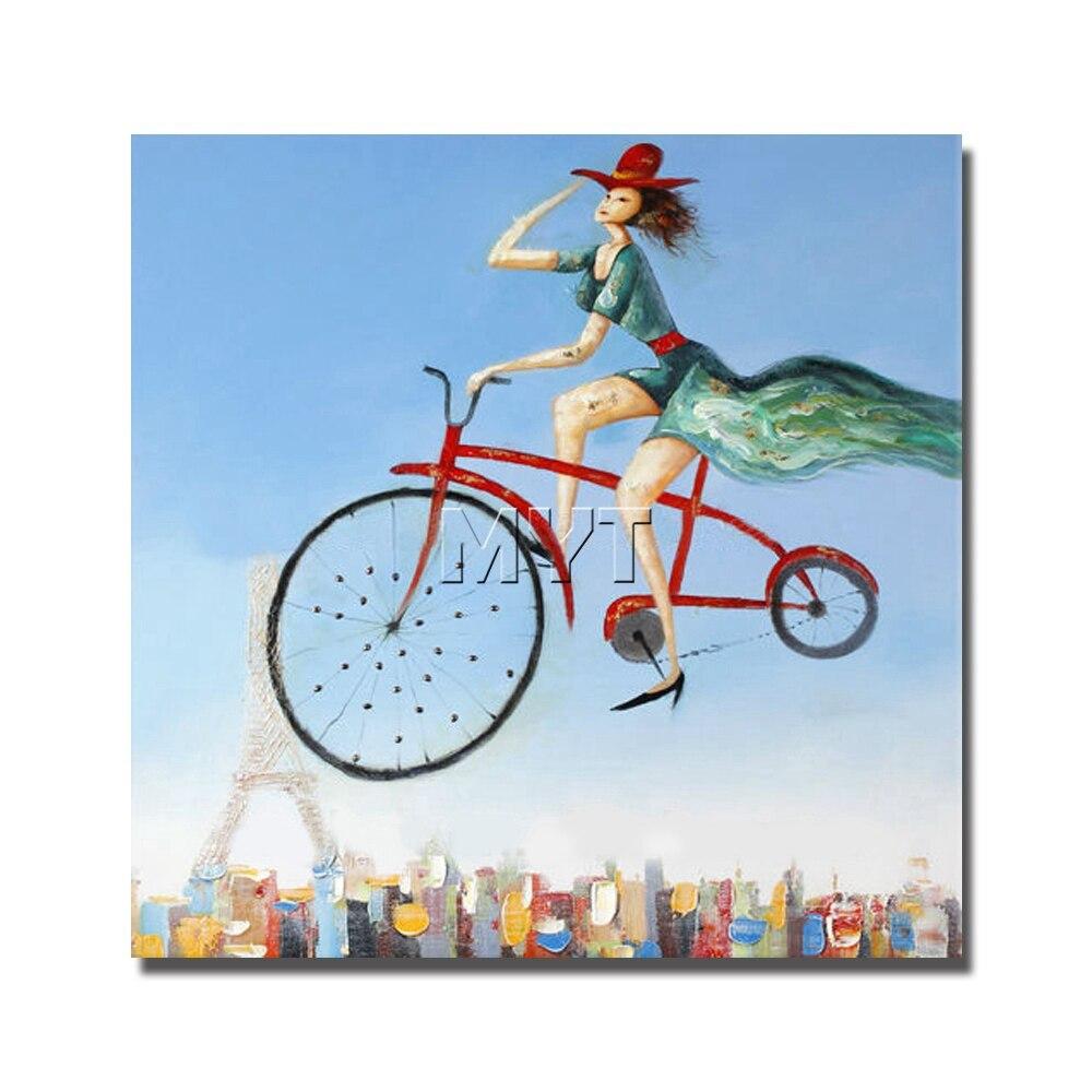 Sí framed Canvas pintura al óleo figura de dibujos animados imágenes ...