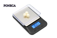 New model Pocket Scale gram scale  0.01g Blcak Weight Digital Jewelry Gold Mini