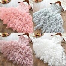 Princess Girls Dress abiti per ragazze abbigliamento per bambini Summer Party tutu abiti per bambini per ragazze Toddler Girls Casual Dress 3 8T