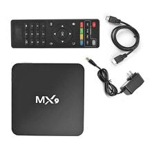 Hot Sale MX9 4K Quad Core 1GB RAM 8GB ROM Android 4.4 TV BOX