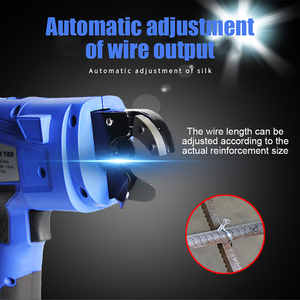 Image 5 - Fully automatic reinforcing bar binding machine rechargeable lithium electric wire binding 8 34mm Handheld Rebar Tying Machine