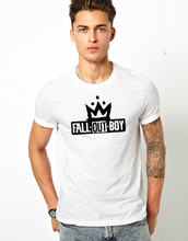 FOB T-shirt Fall Out Boy Music Rock N Roll Pop Metal crown Graphic Gift Tee Top