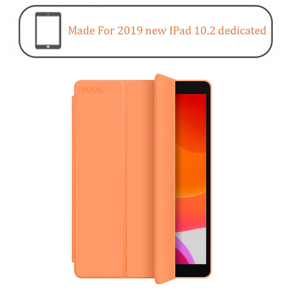 Para el nuevo iPad 10,2 pulgadas modelo A2197 funda, funda ligera de suspensión/despertar automática para iPad 10,2 pulgadas 2019 funda de 7 generación