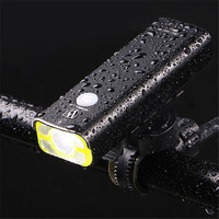Bike Light Front Waterproof USB Rechargeable Bicycle Headlight Safety Lamp FlashLight Cycling LED Light Safety Lamp FlashLight