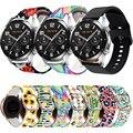 Ремешок силиконовый для наручных часов Huawei magic Watch 2 46 мм/GT2 46/GT 2E, быстросъемный браслет, аксессуары, 22 мм