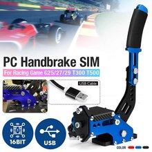 Sistema frenante a mano sensore Hall a 16 Bit Sim freno a mano USB per giochi di corse G25/27/29 T300 T500 Fanatec Osw Dirt Rally rosso