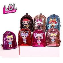Оригинальный сюрприз ЛОЛ куклы школа рюкзак со стразами модный тренд сумки для детей девочек подарки