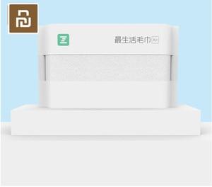 Image 2 - 2 ألوان Youpin ZSH منشفة سلسلة الهواء منشفة الكبار غسل منشفة القطن المنزلية لينة وسهلة لتجفيف المناشف