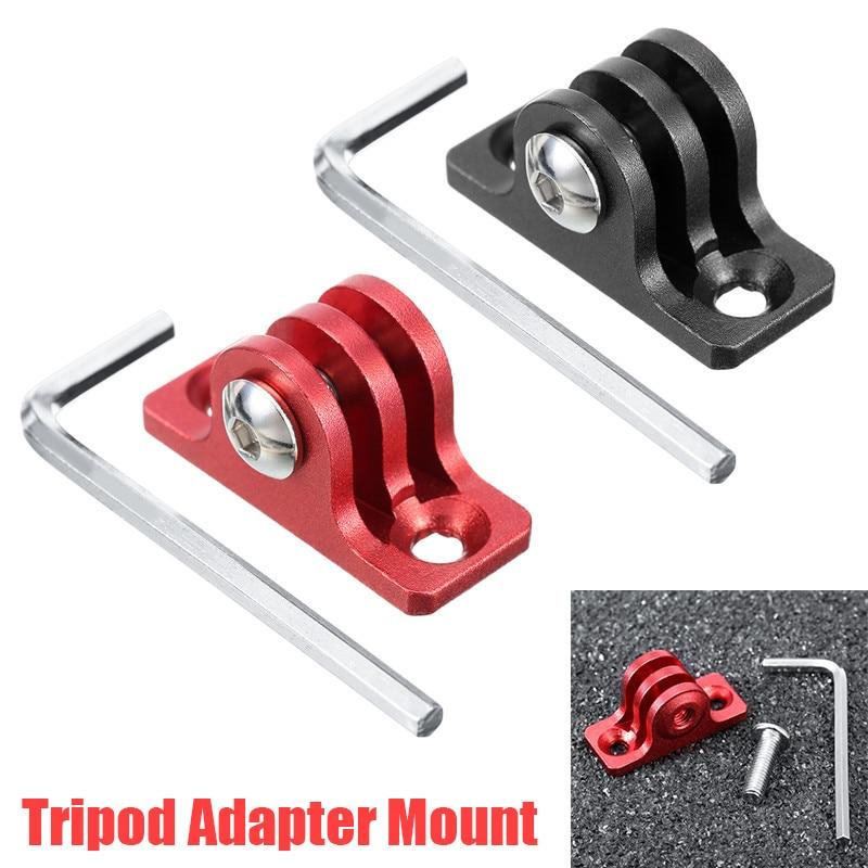 Dolity Aluminum Alloy Flat Bottom Mount Adapter for GoPro Hero 2//3//3+//4//5 Red