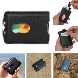 ZEEKER мужские кошельки тонкий передний карман кошелек RFID Блокировка держатель для карт кошелек минималистичный ручной работы из натуральной...