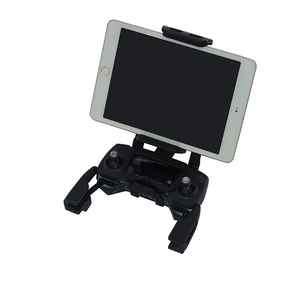 Image 2 - Remote Controller Tablet Holder bracket Phone Mount Front View Clip for DJI Mavic Air Spark Drone Mavic Pro for iPad mini
