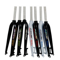 MTB Mountain bike Road bicycle Oil cast shaped hard fork 26/27.5 /29 inch 700C pure Disc Brake Aluminum Alloy Fork