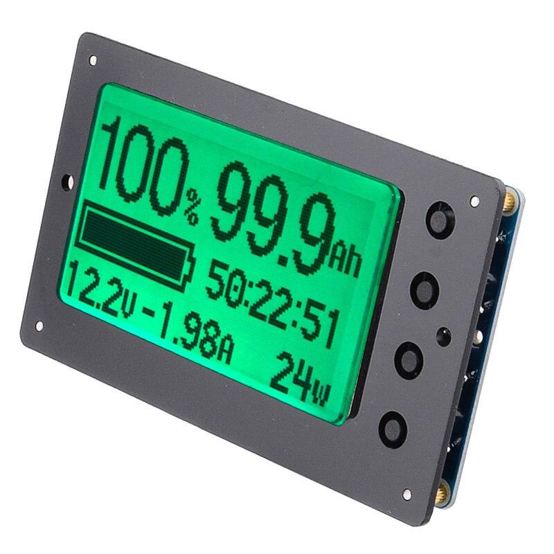 TF03 100V 500A универсальный тестер емкости батареи индикатор напряжения тока панель кулонометр - 3