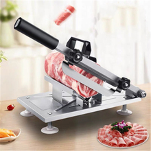 Meat slicer Slicer Sliced meat cutting machine slicer Automatic meat delivery Desktop Easy-cut frozen beef and mutton wholesale semi automatic meat slicer commercial home electric mutton rolls meat grinder machine
