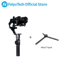купить FeiyuTech AK2000 3-Axis DSLR Camera Stabilizer Tripod Follow Focus for Sony Canon 5D Panasonic GH5/GH5S Nikon D850 2.8KG Payload онлайн
