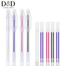 1 шт. термо стираемая ручка с 10 шт. высокая температура исчезающая ткань маркер заправки для одежды ткань из искусственной кожи швейные инструменты