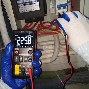 Image 4 - BSIDE Digital Multimeter 9999 T RMS Auto Range EBTN LCD DC AC Voltmeter Ammeter Analog Lcr Meter capacitor Ohm Hz NCV Tester Q1