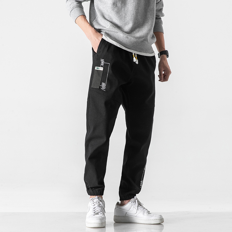 Plus Size 8XL Men's NEW Fashion Harem Jeans Autumn New Loose Casual Hip-hop Style Street Denim Pants Brand Male Trousers