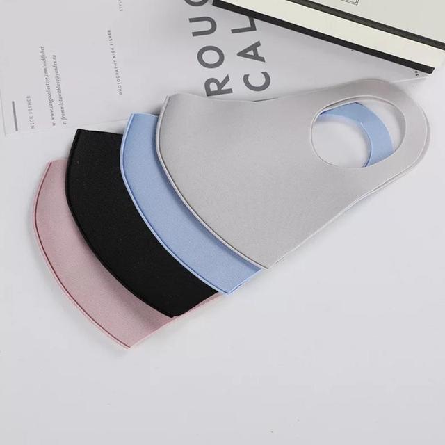 Cotton Cute PM2.5 Mouth Mask Anti Haze Dust Mask Nose Filter Windproof Face Muffle Bacteria Flu Fabric Cloth Respirator 5