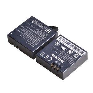 Image 3 - Voor 3Pcs 3.85v YI LITE Xiaomi Yi 4K II 1400mAh Batterij + LCD Dual USB Charger voor XiaoYi 4K 2 Actie Camera Accessoires