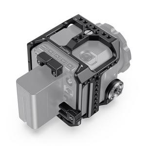 Image 2 - SmallRig Камера клетка для Z CAM E2 S6/F6/F8 Корпус для цифровой зеркальной камеры с рельс NATO/интегрированный ARRI Rosette/HDMI & USB C хомут для кабеля реечная оснастка корзины 2423