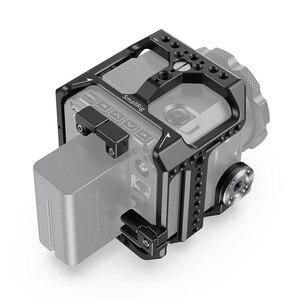Image 2 - Smallrig Camera Kooi Voor Z Cam E2 S6/F6/F8 Dslr Kooi Met Nato Rail/Geïntegreerde Arri Rozet/Hdmi & USB C Kabel Klem Kooi Kit 2423