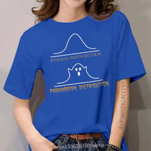 Normal Distribution Paranormal Distribution Boo Halloween Classic Black T Shirt. Present Casual Tee Shirt