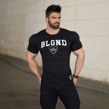 2019 New Tight Running Shirt Men Quick Dry Compression Top Rashgard Male Gym Fitness T-shirt Sport Shirt Jogging Tees Clothing new quick dry running shirt men bodybuilding sport t shirt long sleeve compression top gym t shirt men fitness tight rashgard