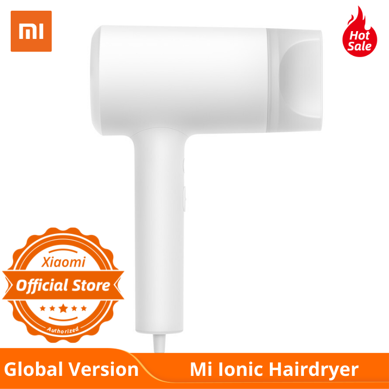 Global Version Xiaomi Mi Ionic Hair Dryer Smart NTC Temperature Control Choose Hot And Cold Air Protects With Water Lonic
