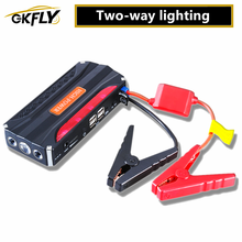 GKFLY Emergency Car Jump Starter 12V Portable Power Bank Battery Charger Booster Starting Cable Device Diesel Petrol Auto LED
