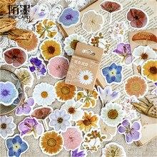 45 шт. милые цветы стать стихами блокнот наклейка креативный блеск Сменные наклейки канцелярские подарки журнал путешественника