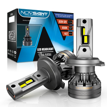 NOVSIGHT H7 led canbus H4 led H11 H8 H9 H1 H3 9005 9006 120W 22000LM Decoder Auto Headlamp for car 6500K Fog Light free shipping