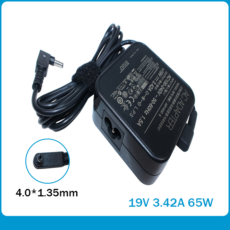 19V 3.42A 4.0*1.35mm Charger Power Supply Original AC Laptop Adapter For Asus PA-1650-78 PA-1650-48 ADP-65GD B ADP-65AW A