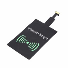 High Quality Portable Universal Qi Wireless Charger Receiver Lightweight Charging Adapter Pad Coil For Android System цена 2017