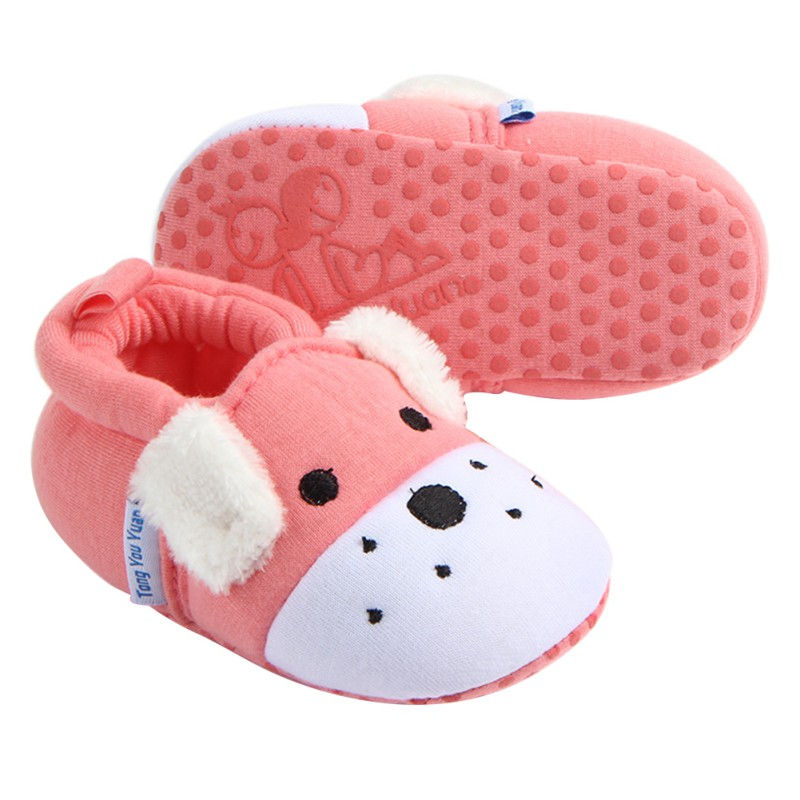 8 Styles Baby Shoes Infant Boys Girls Soft Cotton  Anti Slip Moccasins Toddler Cartoon First Walkers For 3-11 Months