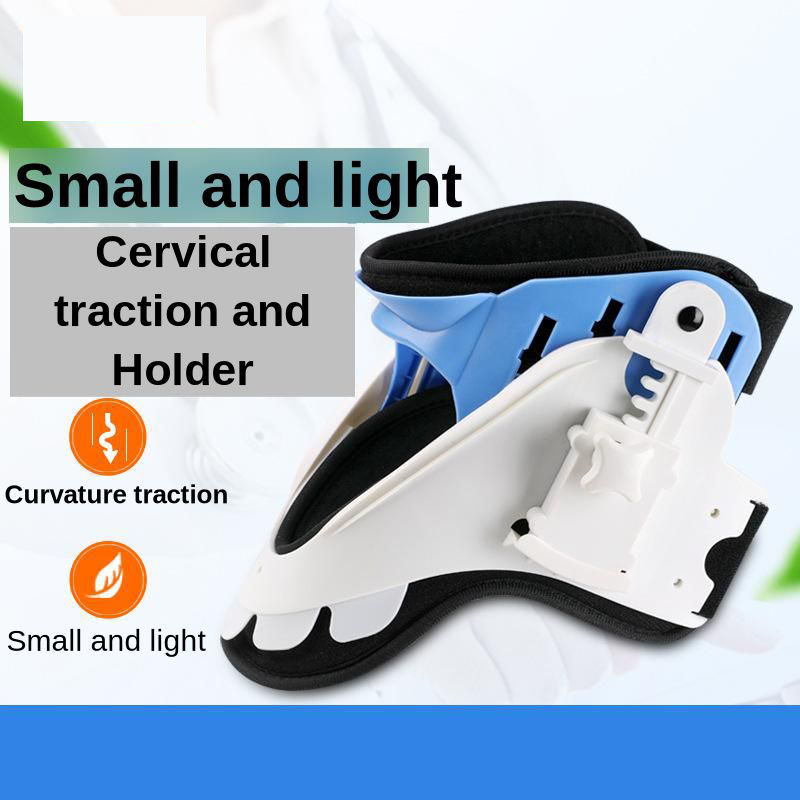 Relax Cervical Traction Neck Massager Adjustable Colar Cervical Corrector Neck Support Spine Fracture Fixation Relief The Pain