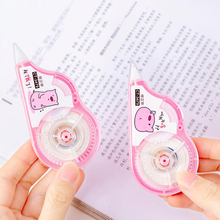 New 1pcs Creative Kawaii Pink Pig Correction Tape Cartoon student pen writing correction tape Office school Rubber Supplies