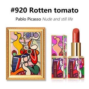 Image 5 - Zeesea Nuove Collezioni Picasso Opaco Prova di Velluto Non stick Tazze di Acqua di Lunga Durata Naturale Stick Labbra Nude Smalto Trucco cosmetici