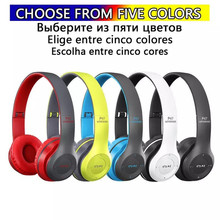 Wireless Headsets Bluetooth Headphone Foldable Gaming PS5 Adjustable Computer Earphone Support Mic TF Card FM Earbuds Headphones