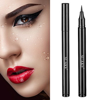 1PCS Matte Black Waterproof Eyeliner Pencil Long-lasting Liquid Eye Liner Pen Pencil Make Up Tool Makeup Crayon Eyes Marker Pen