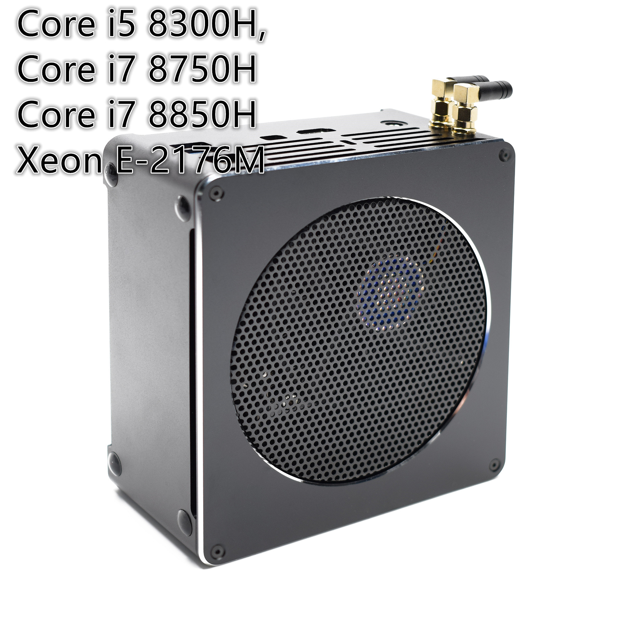 High Quality Gaming Mini PC I7 8750H/8850H I5 8300H E3-1505M 6 Core 12 Threads 64GB DDR4 With AC Wifi Win10 Pro Computer