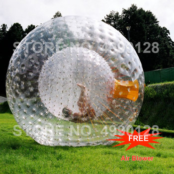 Free Shipping Rolling Ball 2.5M 3.0M Inflatable Grass Ball Human Hamster Ball Inflatable Body Zorb Ball for Outdoor Game 2 0m dia inflatable water ball water walking ball human hamster ball giant inflatable ball water zorb ball